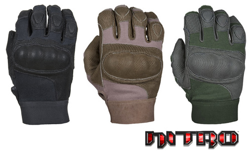 NITRO� - Kevlar�, Digital leather & Carbon-Tek� fiber knuckles