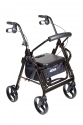 Duet Rollator/Chair with Foot Rest