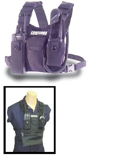 Double Adjusta Pro Radio Chest Harness - Black - DCH1-I
