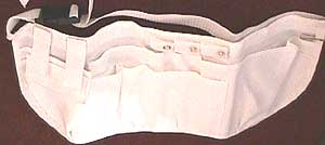 Large Medical Apron White 19